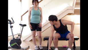 Asian Gym Breezy Has Thick  And Young..