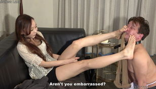 Chinese Female dominance Risa Sole..