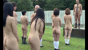 Messy japanese college Nakedness..